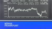 Börse Frankfurt - DAX Tafel open webcam