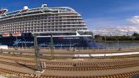 Warnemünde - Am Alten Strom open webcam