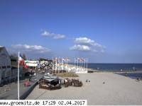 Grömitz - Strandpromenade open webcam