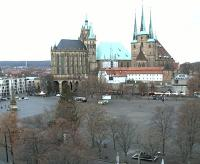 Erfurt - Domplatz open webcam