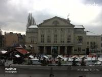 Weimar - Theaterplatz open webcam