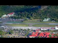 St Barth - Airport Gustav III open webcam