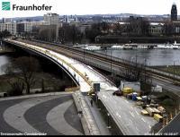 Dresden - Carolabrücke open webcam