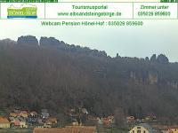 Sächsische Schweiz - Schrammsteine open webcam