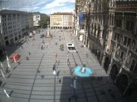Marienplatz München open webcam
