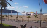 Teneriffa - Playa de Los Cristianos open webcam