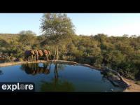 Kenia - Africam Rosie´s Pan open webcam