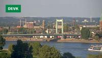 Köln - Mühlheimer Brücke open webcam