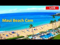 Maui - Kaanapali Beach open webcam