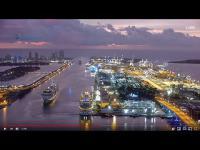Miami - Hafen open webcam