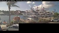 Saint Barth - Port de Gustavia open webcam