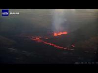Iceland - Vulkan Geldingadalur open webcam