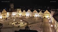 Pelhřimov - Masarykovo náměstí open webcam