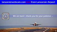 Lanzarote - Airport open webcam