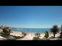 Kapstadt - Clifton 4th beach open webcam